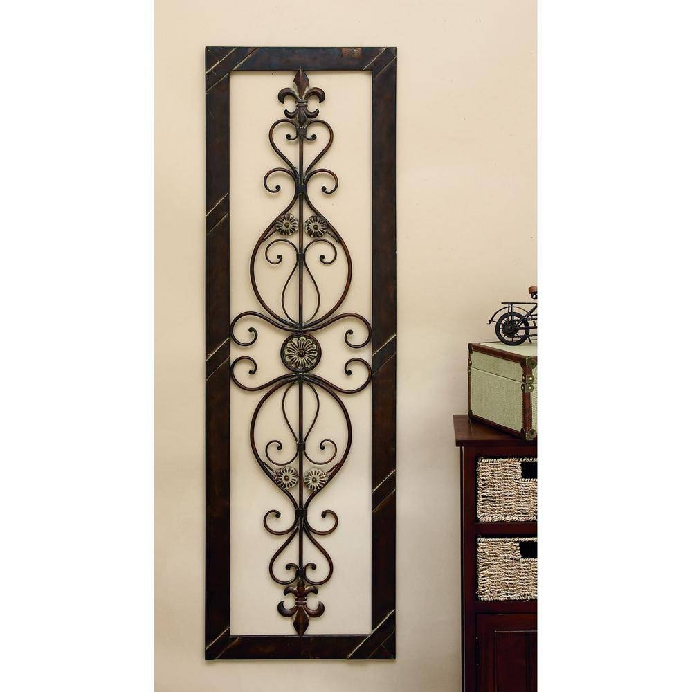 25 ideas of metal fleur de lis wall art for Fleur de lis home decorations