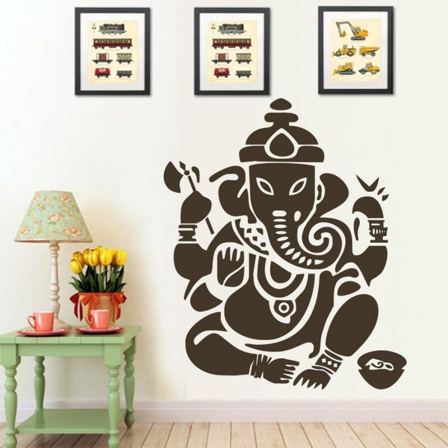 Appealing Modern Ganesh Wall Art Shraddha Trivedi Wall Art Wall With Regard To Latest Ganesh Wall Art (View 6 of 20)