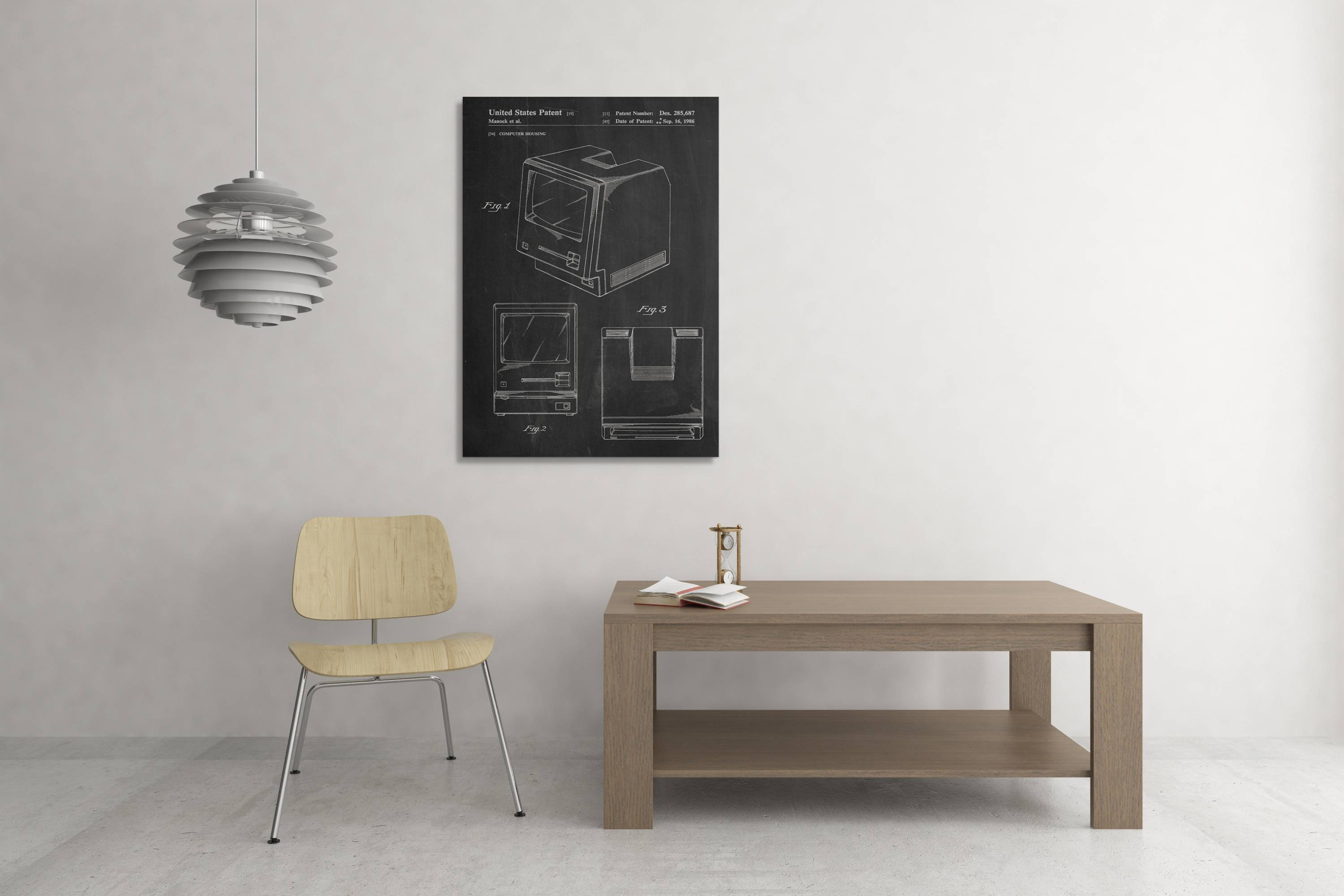 Apple Computer Patent Canvas Wall Art With Regard To Recent Computer Wall Art (View 3 of 20)