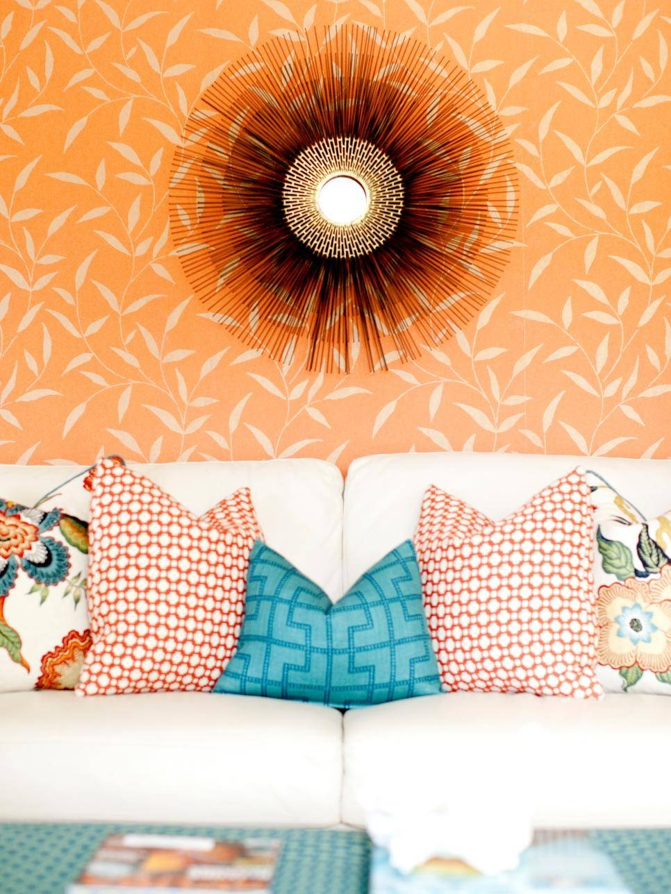 Aqua Color Palette – Aqua Color Schemes | Hgtv Throughout Most Current Orange And Turquoise Wall Art (View 10 of 20)