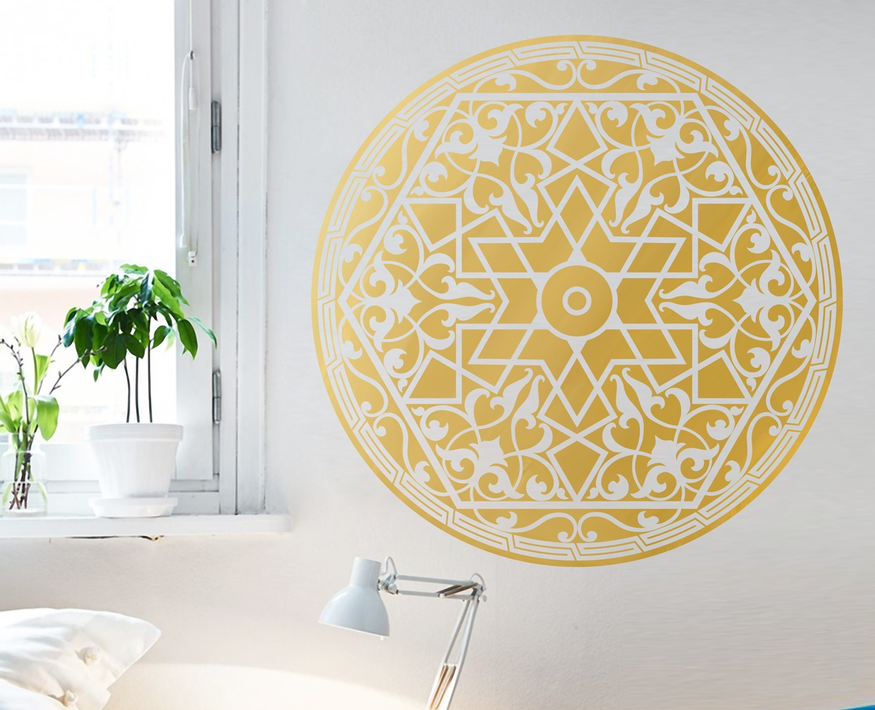 Arabic Pattern – Your Decal Shop | Nz Designer Wall Art Decals Within Most Popular Pattern Wall Art (View 1 of 20)