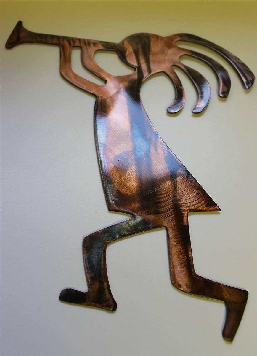 Arizona Kokopelli's Trio Metal Wall Art Decor In Most Current Kokopelli Metal Wall Art (View 3 of 25)