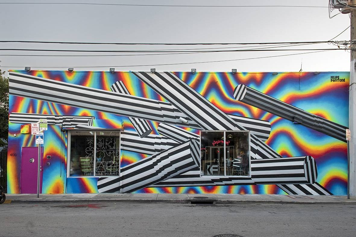 Art Basel Miami Beach: Spectacular Murals In Wynwood Regarding Most Current Miami Wall Art (View 4 of 20)