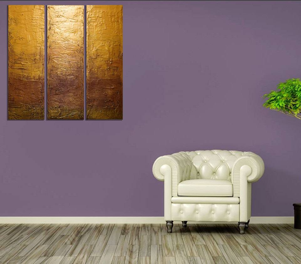 Art Canvas Depository — Landscape Painting Canvas Triptych Wall Art Within Recent 48X48 Canvas Wall Art (View 9 of 20)