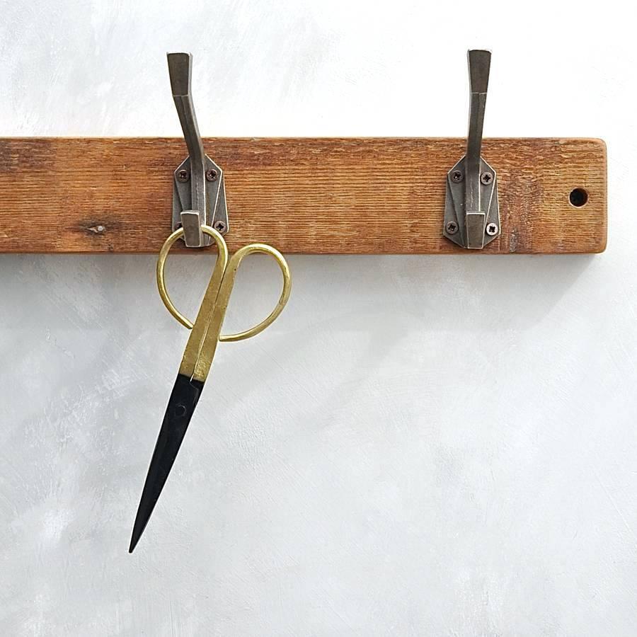 Art Deco Coat Hook Industrial Garment Rack Canada Racks Wheels Pertaining To Recent Wall Art Coat Hooks (View 2 of 20)