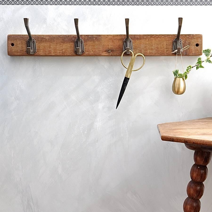Art Deco Coat Hookindustrialdesign | Notonthehighstreet Regarding Most Recently Released Wall Art Coat Hooks (View 3 of 20)