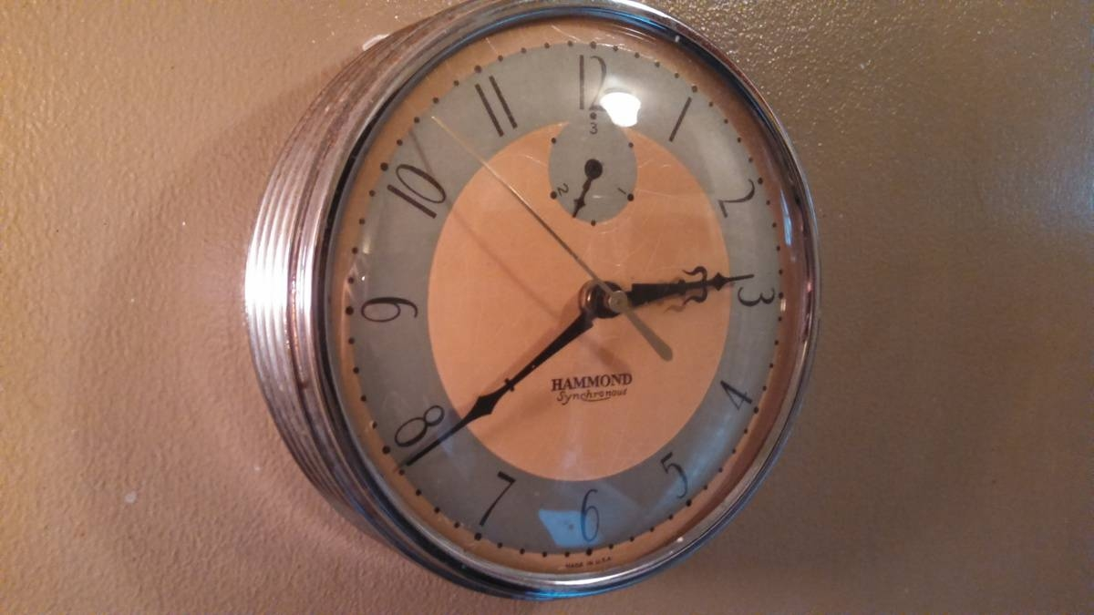 Art Deco Hammond Wall Clock | Collectors Weekly Regarding Current Art Deco Wall Clocks (View 4 of 25)