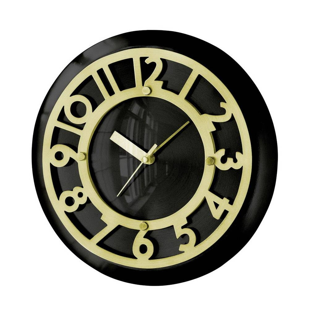 Art Deco Wall Clock U2013 Wall Shelves Throughout Most Current Art Deco Wall  Clocks (Gallery