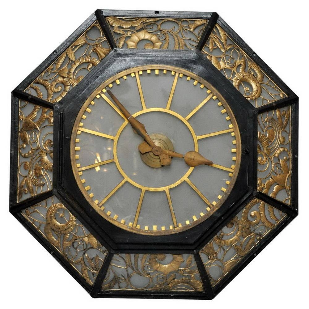 Art Deco Wall Clocks For Sale | Home Design Ideas With Regard To Current Art Deco Wall Clocks (View 10 of 25)
