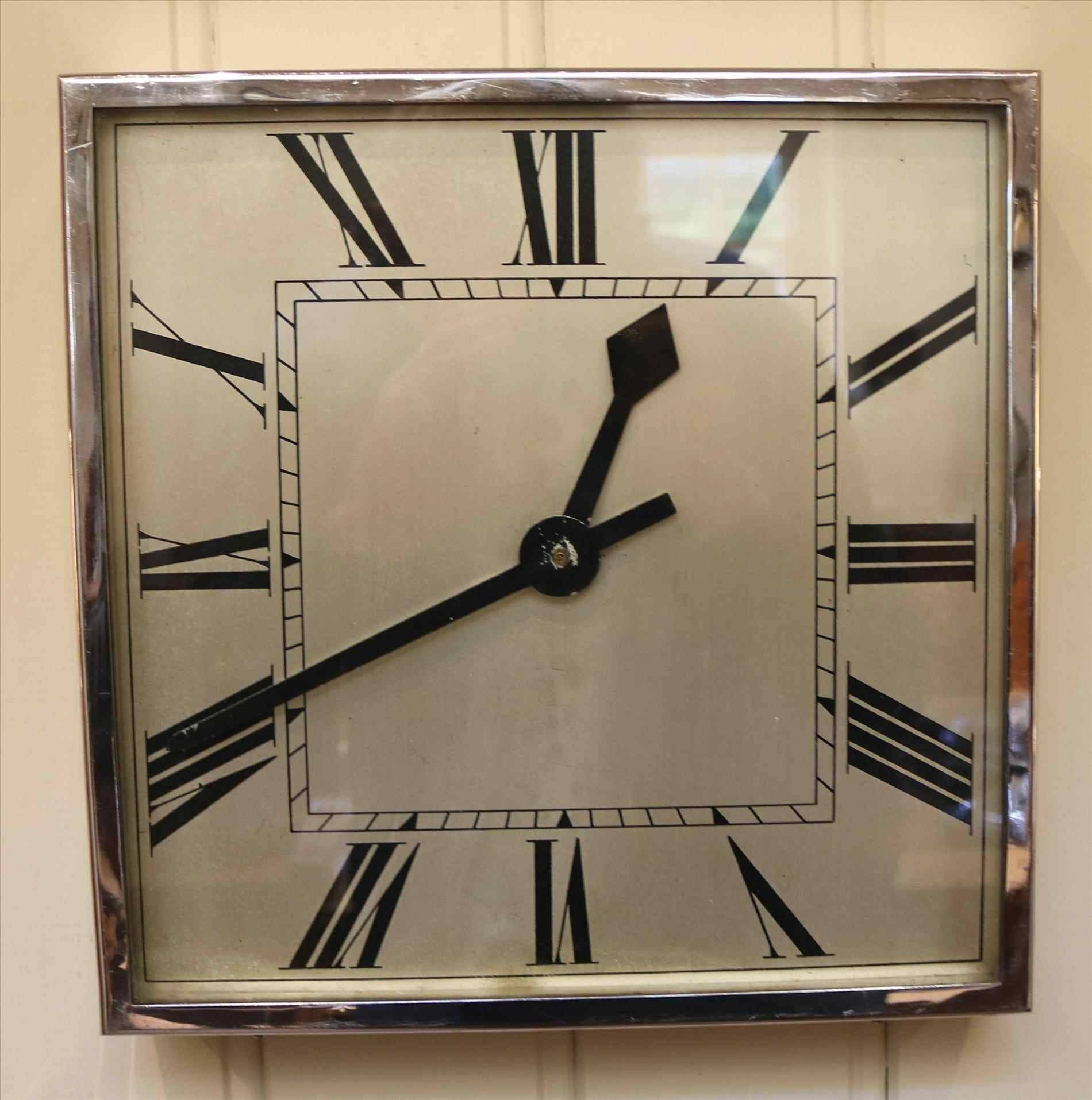 Art Deco Wall Clocks Large | Home Interior Decor Throughout Most Current Large Art Deco Wall Clocks (View 21 of 30)