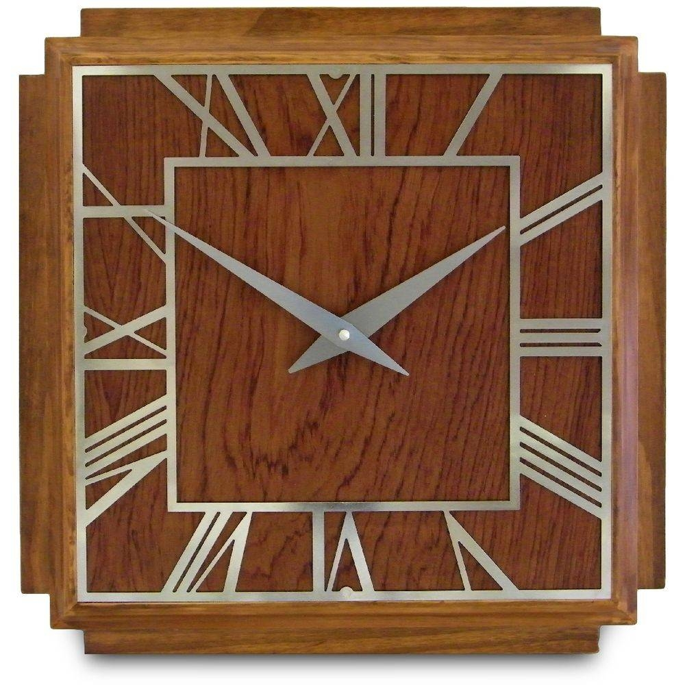Art Deco Wall Clocks | Over 100 Wall Clocks To Choose From, All With 2017 Art Deco Wall Clocks (Gallery 2 of 25)