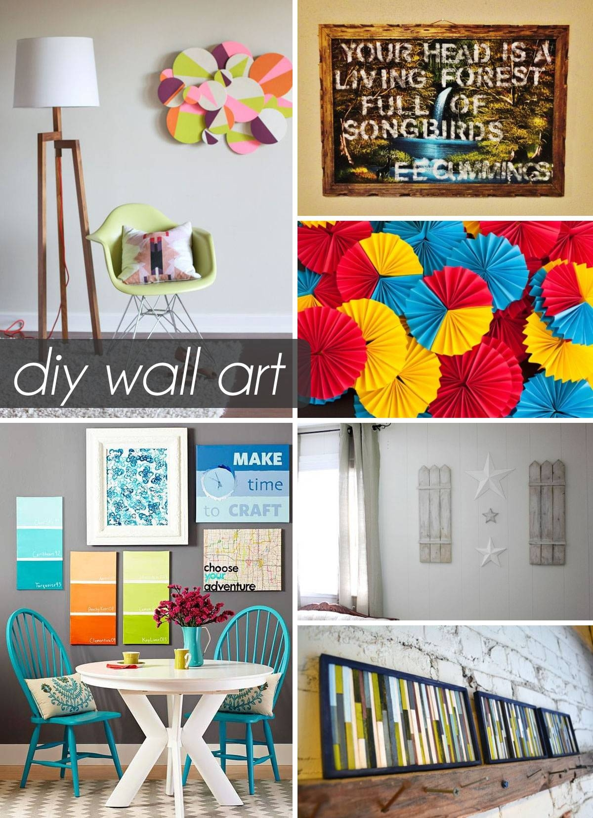Art: Diy 3D Wall Art Pertaining To Most Up To Date Do It Yourself 3D Wall Art (View 4 of 20)