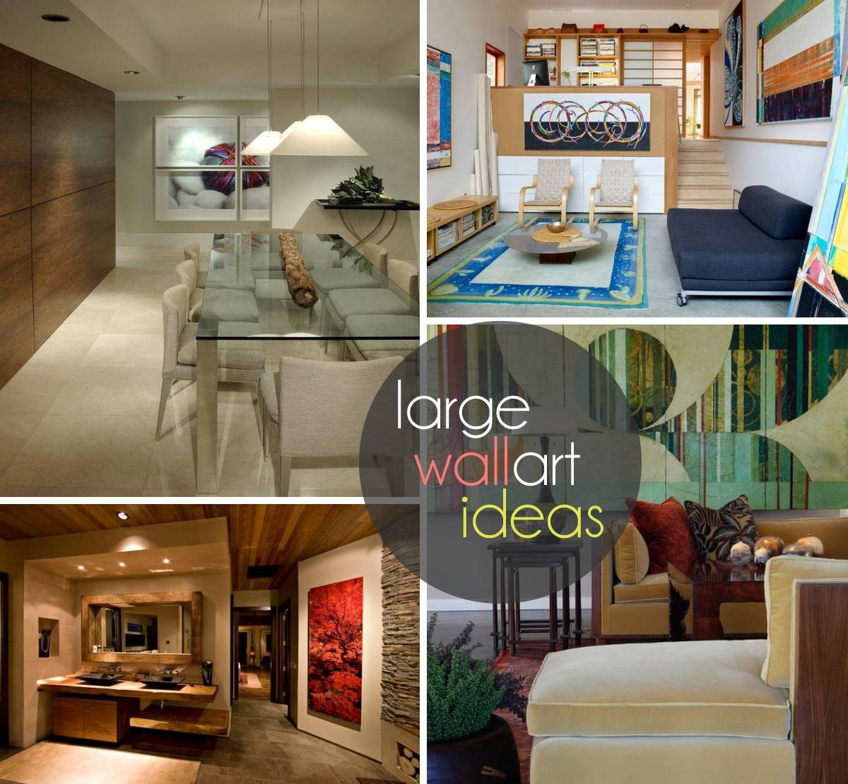 Art: Oversized Wall Art Ideas In Most Recent Large Inexpensive Wall Art (View 2 of 20)