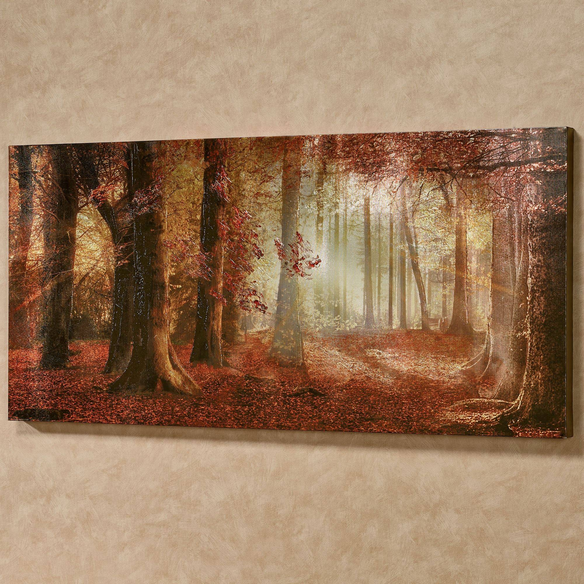 Art, Wall Sculpture, Wall Tapestries, Canvas Art, Framed Prints Inside Latest Autumn  Inspired Wall Art (View 9 of 25)