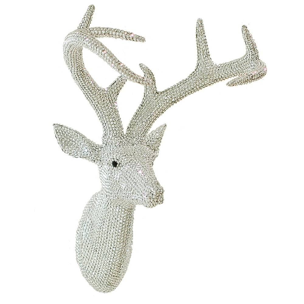 Arthouse Star Studded Stag Head Diamante Deer Mounted Wall Art 008172 In 2018 Stag Head Wall Art (View 2 of 20)