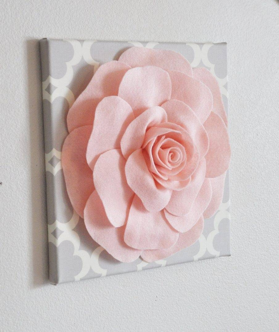 Articles With 3D Flower Wall Art Diy Tag: 3 D Wall Art Pictures In Best And Newest Umbra 3D Flower Wall Art (View 19 of 20)