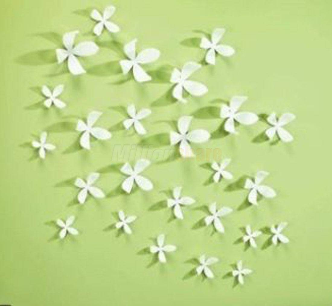 Articles With 3D Flower Wall Art Diy Tag: 3 D Wall Art Pictures Within Latest Umbra 3D Flower Wall Art (View 9 of 20)