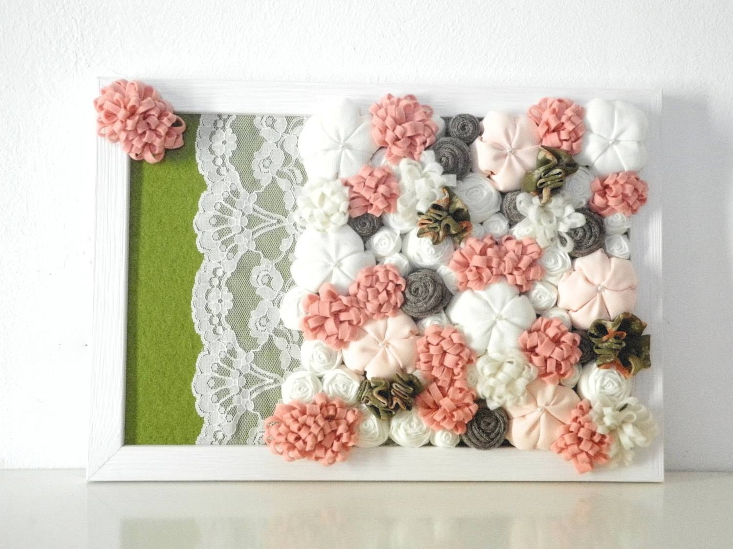 Articles With 3D Flower Wall Art Items Tag: Flower Wall Art Images Regarding Most Popular Flowers 3D Wall Art (View 5 of 20)