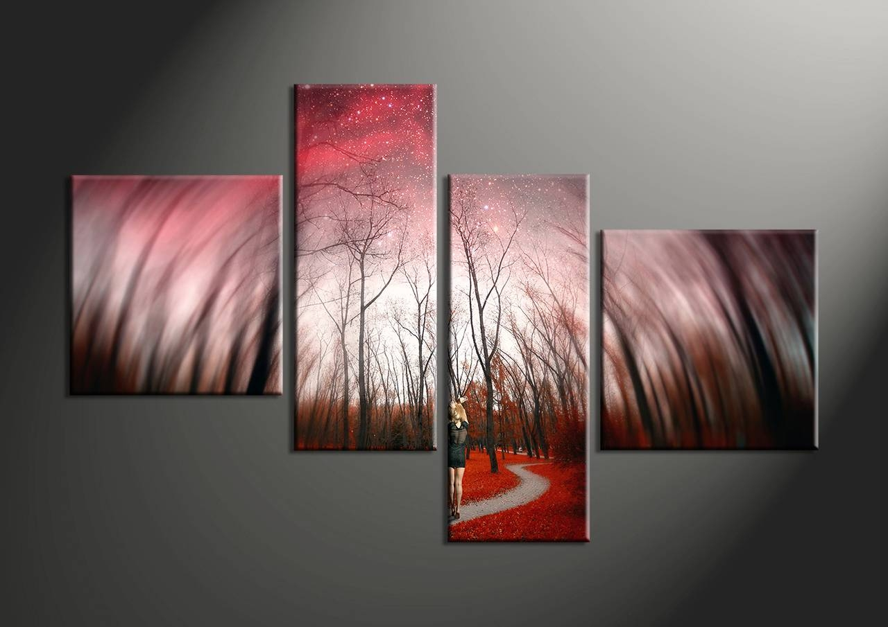 Articles With 4 Piece Wall Art Canvas Tag: 4 Piece Wall Art Photo (View 2 of 25)