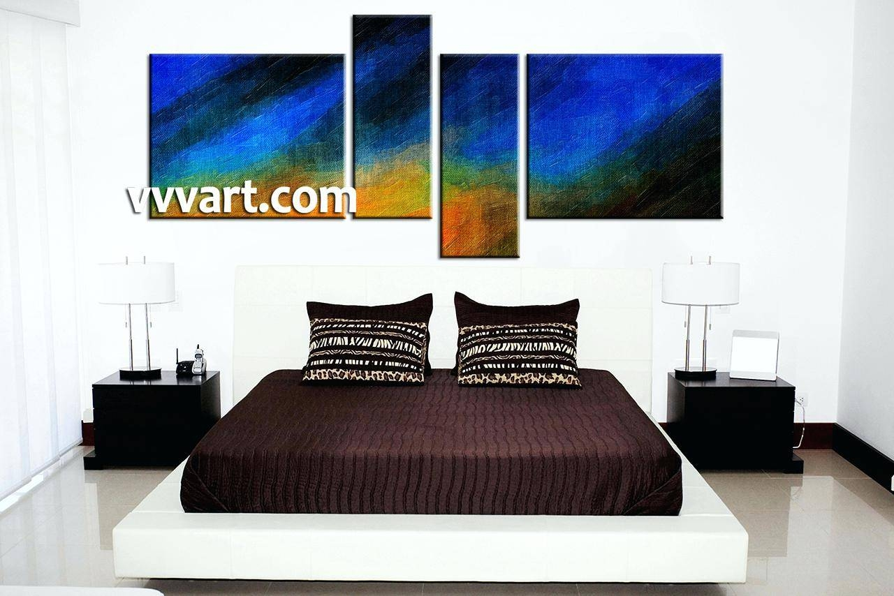 Articles With 4 Piece Wall Art Sets Tag: 4 Piece Wall Art. Throughout Most Popular 4 Piece Canvas Art Sets (Gallery 11 of 25)
