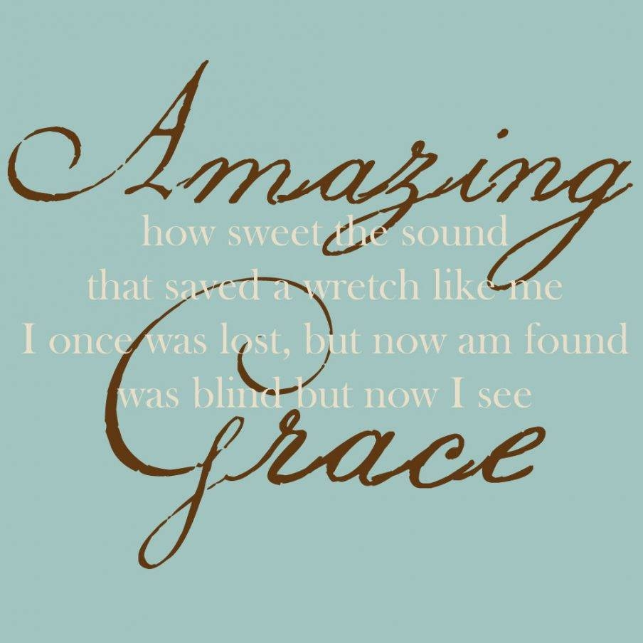Articles With Amazing Grace Metal Wall Art Tag: Amazing Grace Wall Throughout 2017 Grace Wall Art (View 11 of 25)