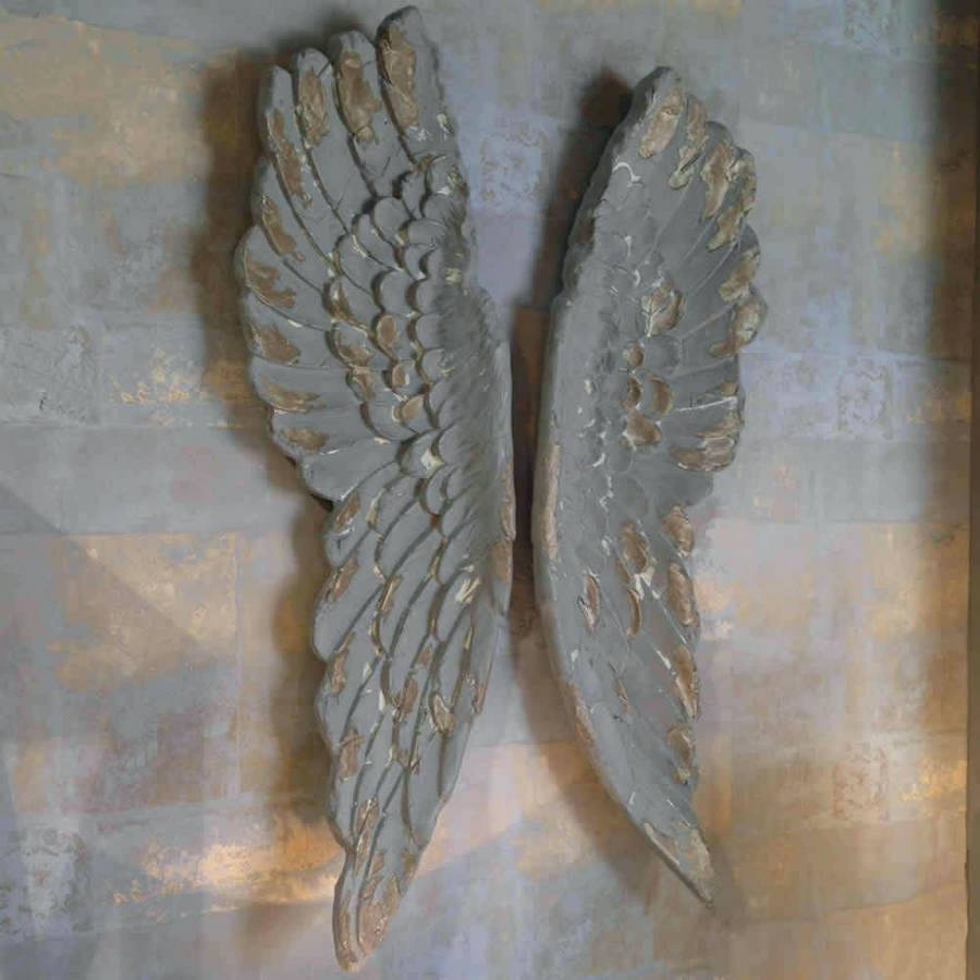Articles With Angel Wings Wall Art Label: Marvellous Angel Wall With Regard To 2017 Angel Wings Sculpture Plaque Wall Art (View 5 of 20)