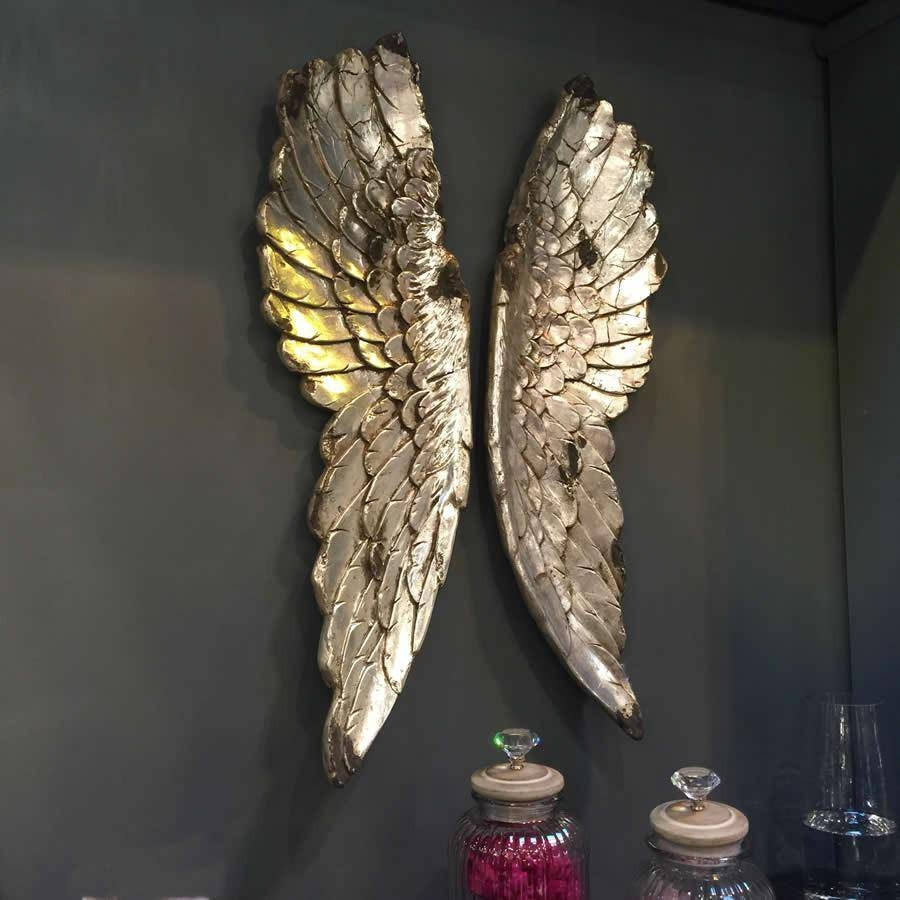 Articles With Angel Wings Wall Art Uk Tag: Angel Wings Wall Art In Most Popular Angel Wings Sculpture Plaque Wall Art (View 14 of 20)