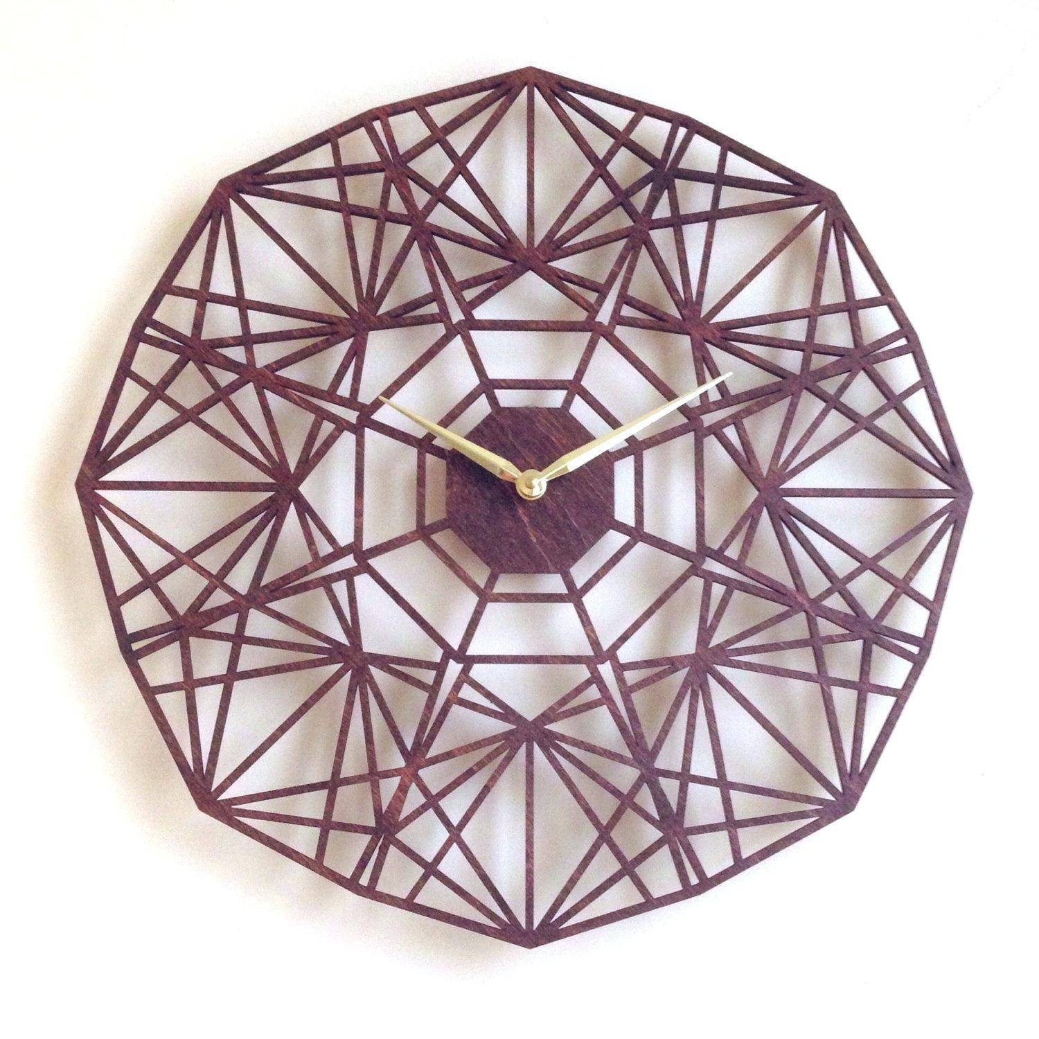 Articles With Art Deco Wall Clock Uk Tag: Wall Clock Art (View 29 of 30)