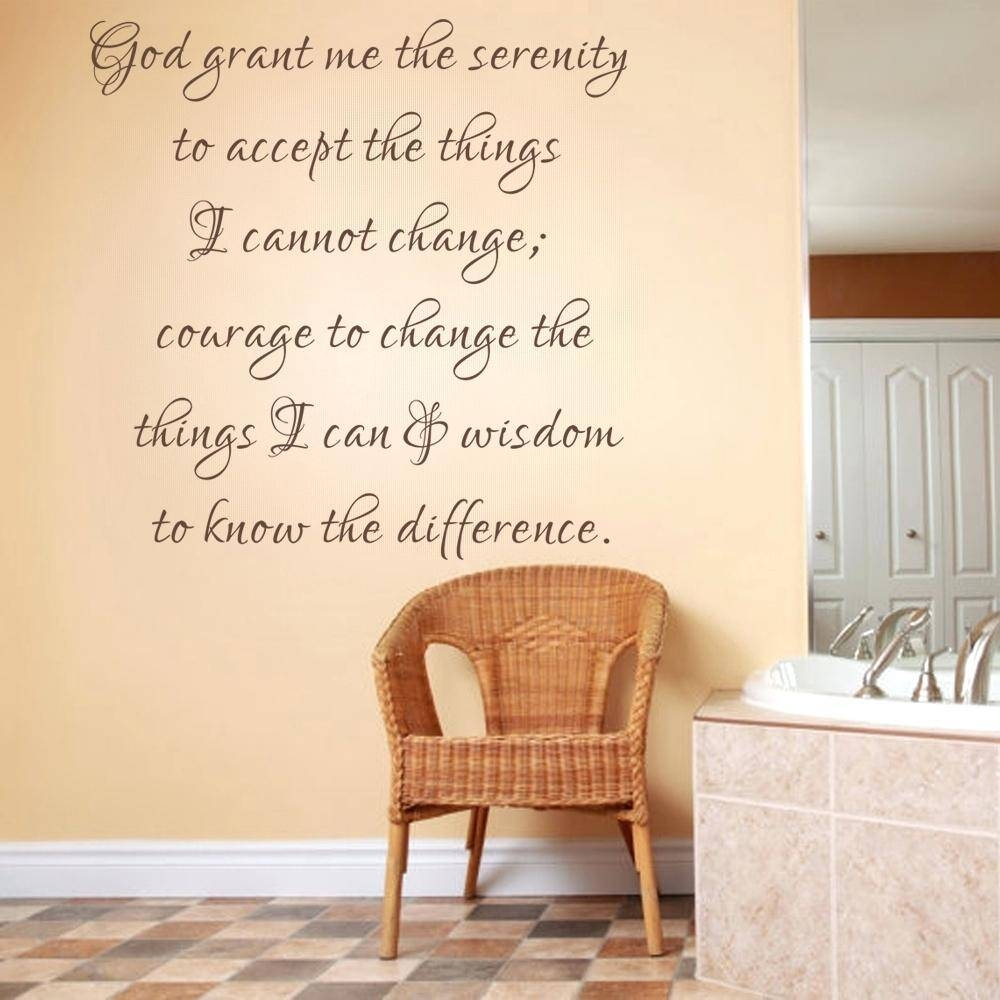 Articles With Bible Verse Wall Art Stickers Label: Stunning Bible Pertaining To Most Up To Date Bible Verses Wall Art (View 3 of 30)