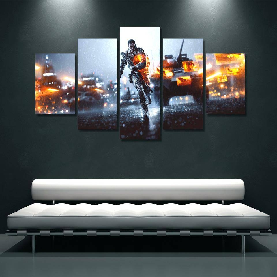 Articles With Blossoming In The Moonlight' 4 Piece Wall Art Canvas Pertaining To Most Recent 4 Piece Canvas Art Sets (Gallery 18 of 25)