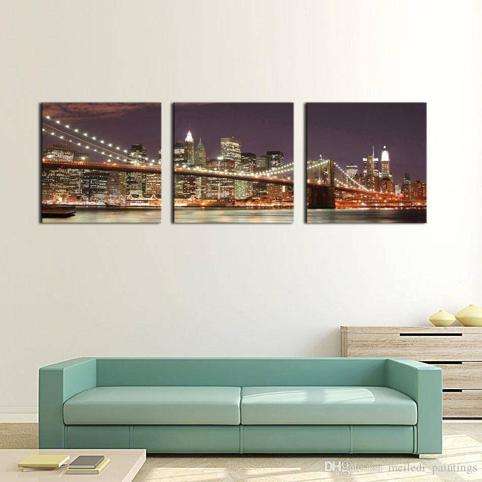 Articles With Brooklyn Bridge Art Print Tag: Brooklyn Bridge Wall Inside Most Up To Date Brooklyn Bridge Metal Wall Art (View 1 of 25)