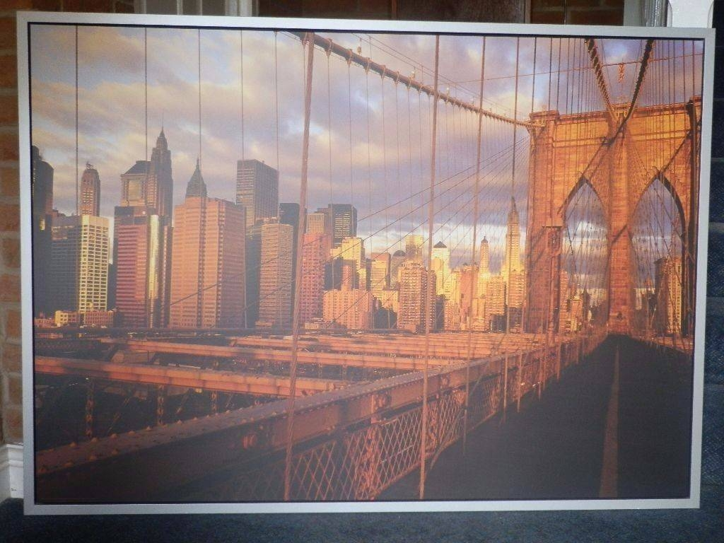 Articles With Brooklyn Bridge Metal Wall Art Tag: Brooklyn Bridge For Best And Newest Brooklyn Bridge Metal Wall Art (View 4 of 25)