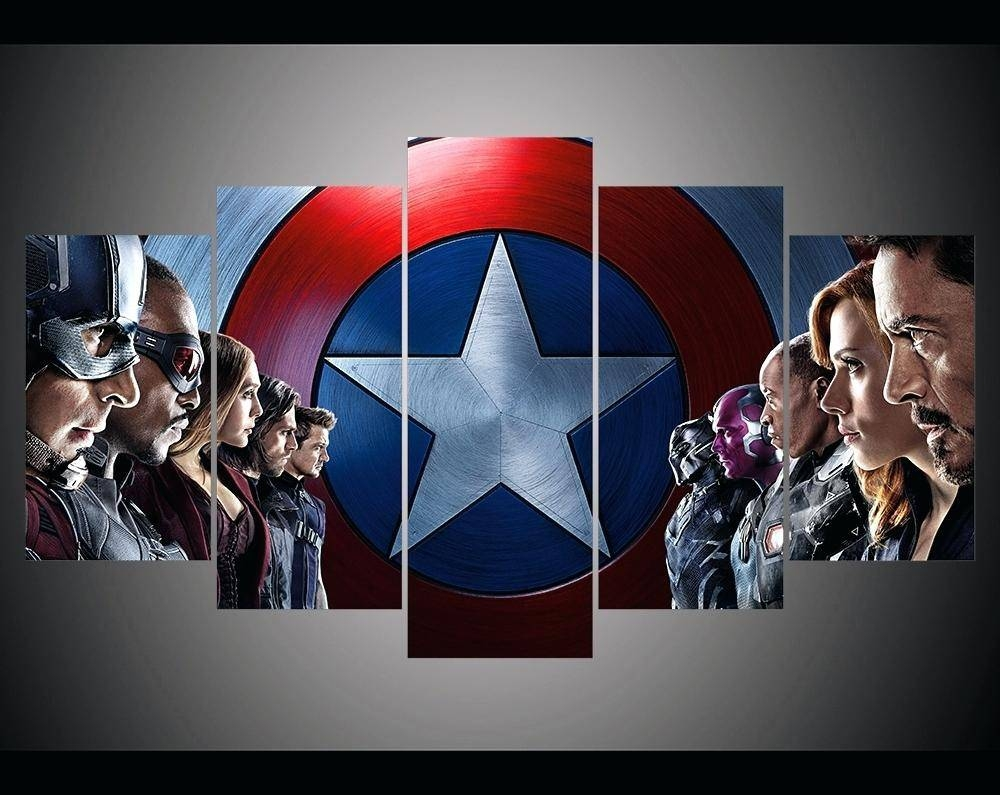 Articles With Captain America 3D Wall Art Night Light Label Regarding 2018 Captain America 3D Wall Art (View 7 of 20)