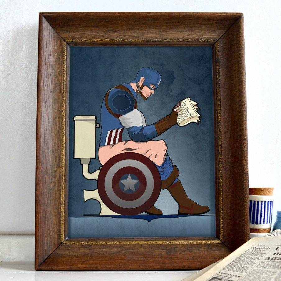 Articles With Captain America Wood Wall Art Tag: Captain America Intended For 2017 Captain America 3D Wall Art (View 11 of 20)