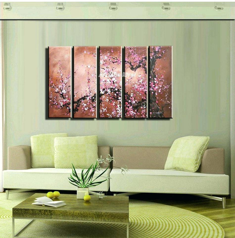 Articles With Cherry Blossom Wall Art Decor Tag: Mesmerizing Intended For Current Red Cherry Blossom Wall Art (View 5 of 30)