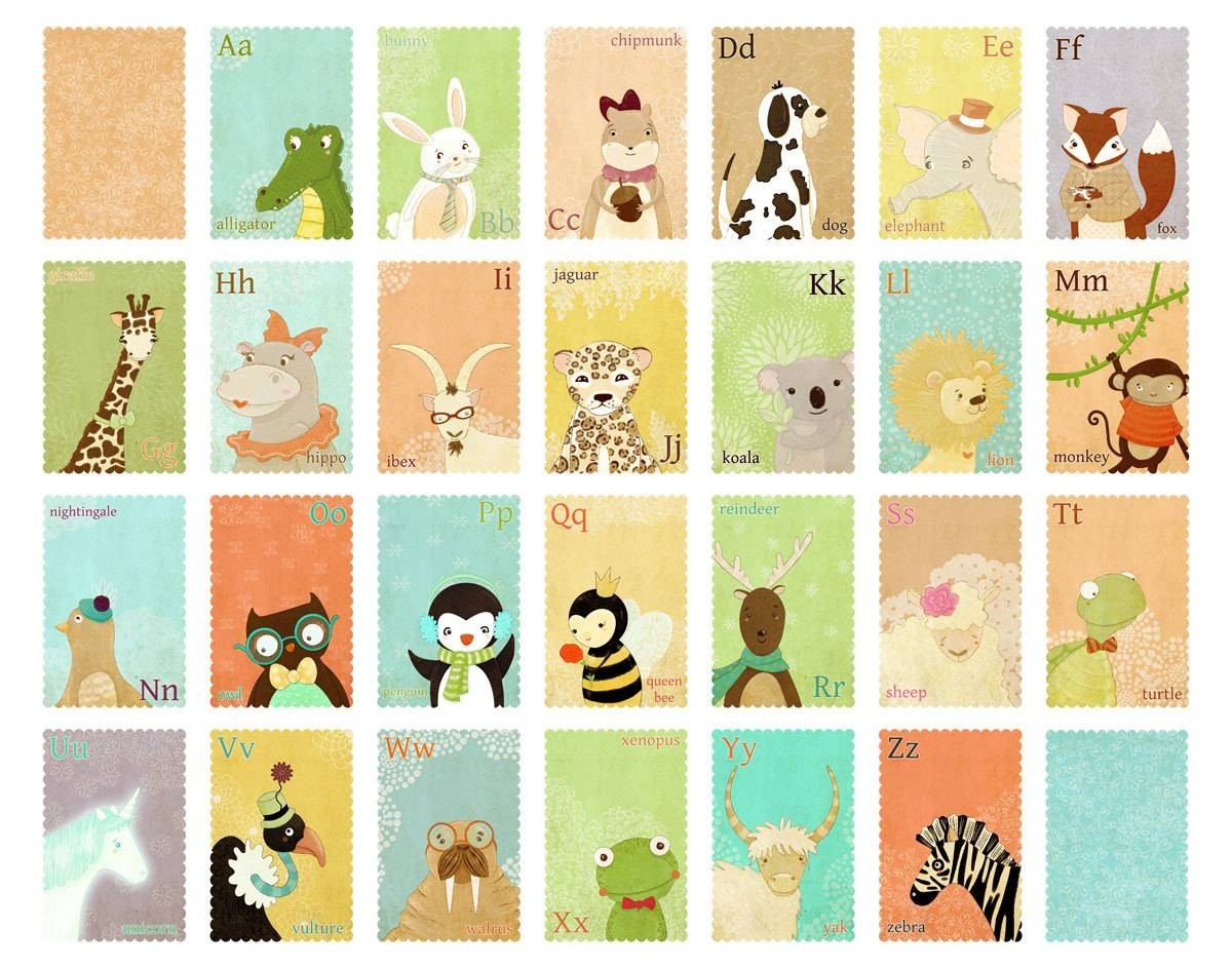 Articles With Children's Abc Wall Art Tag: Abc Wall Art Design (View 19 of 20)