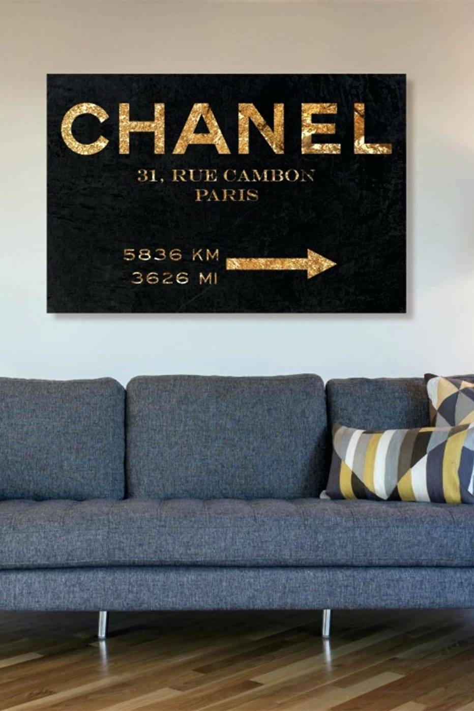 Articles With Coco Chanel Bottle Wall Art Tag: Trendy Chanel Wall Throughout 2017 Chanel Wall Decor (View 7 of 25)