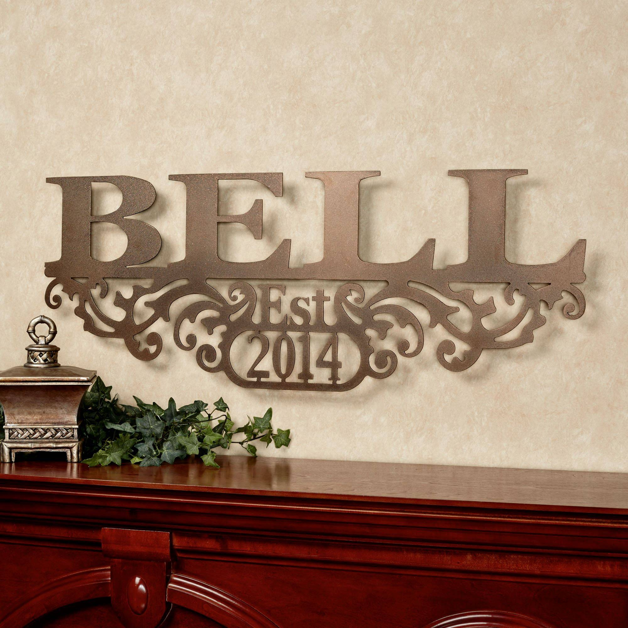 Articles With Custom Last Name Wall Art Tag: Family Name Wall Art With Regard To 2018 Last Name Wall Art (View 1 of 25)