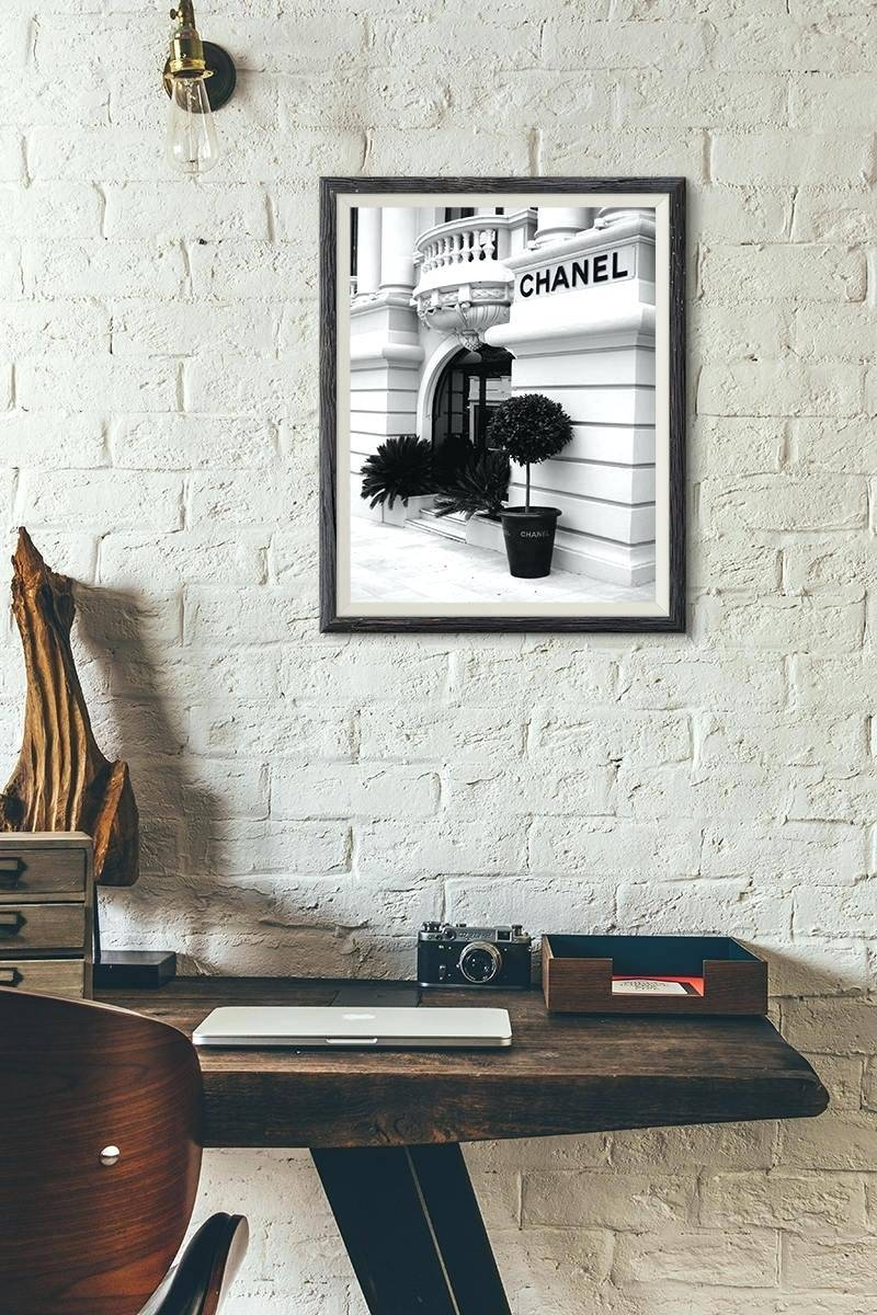 Articles With Diy Coco Chanel Wall Art Tag: Coco Chanel Wall Art (View 24 of 30)