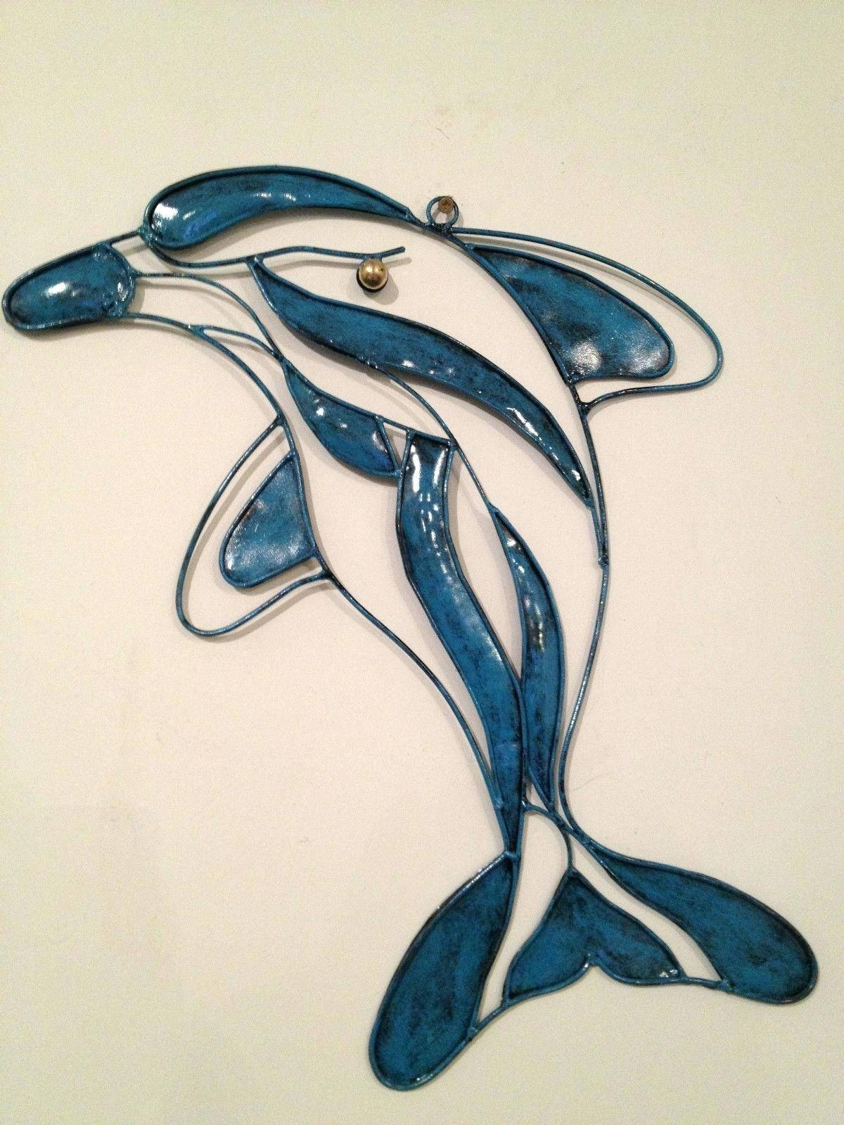 Articles With Dolphin Wall Art Metal Tag: Dolphin Wall Art (View 10 of 25)