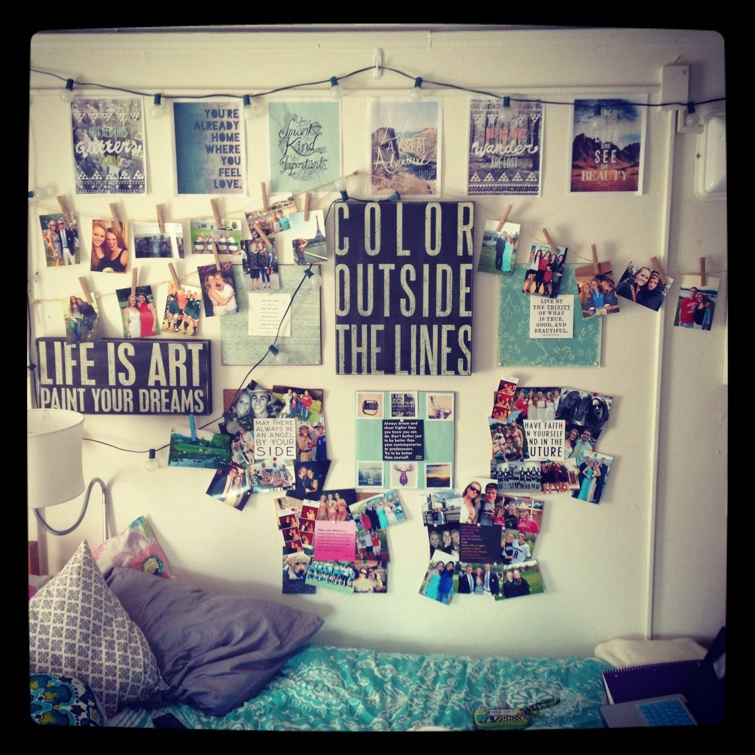 20 Best Decorating Good To Know Images On Pinterest: 20 Best Collection Of College Dorm Wall Art