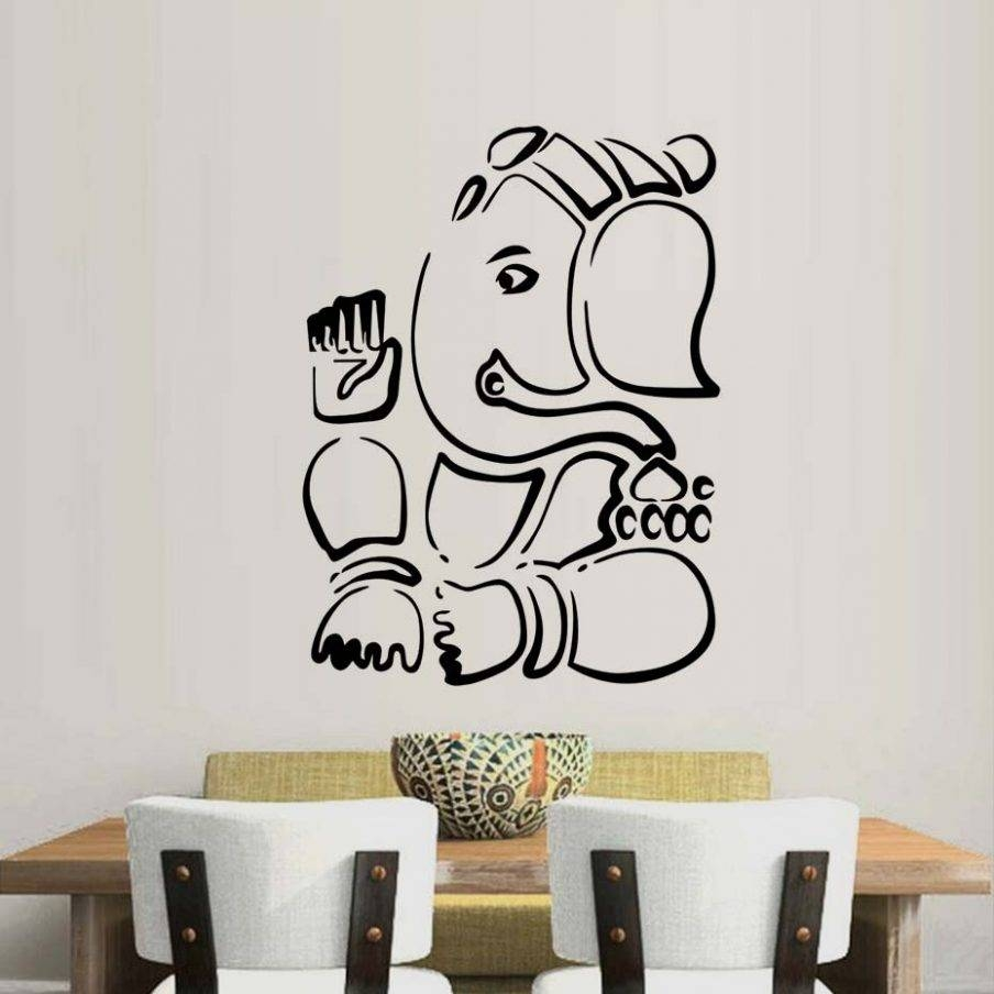 Articles With Ganesha Wall Art India Tag: Ganesh Wall Art Intended For Current Ganesh Wall Art (View 10 of 20)