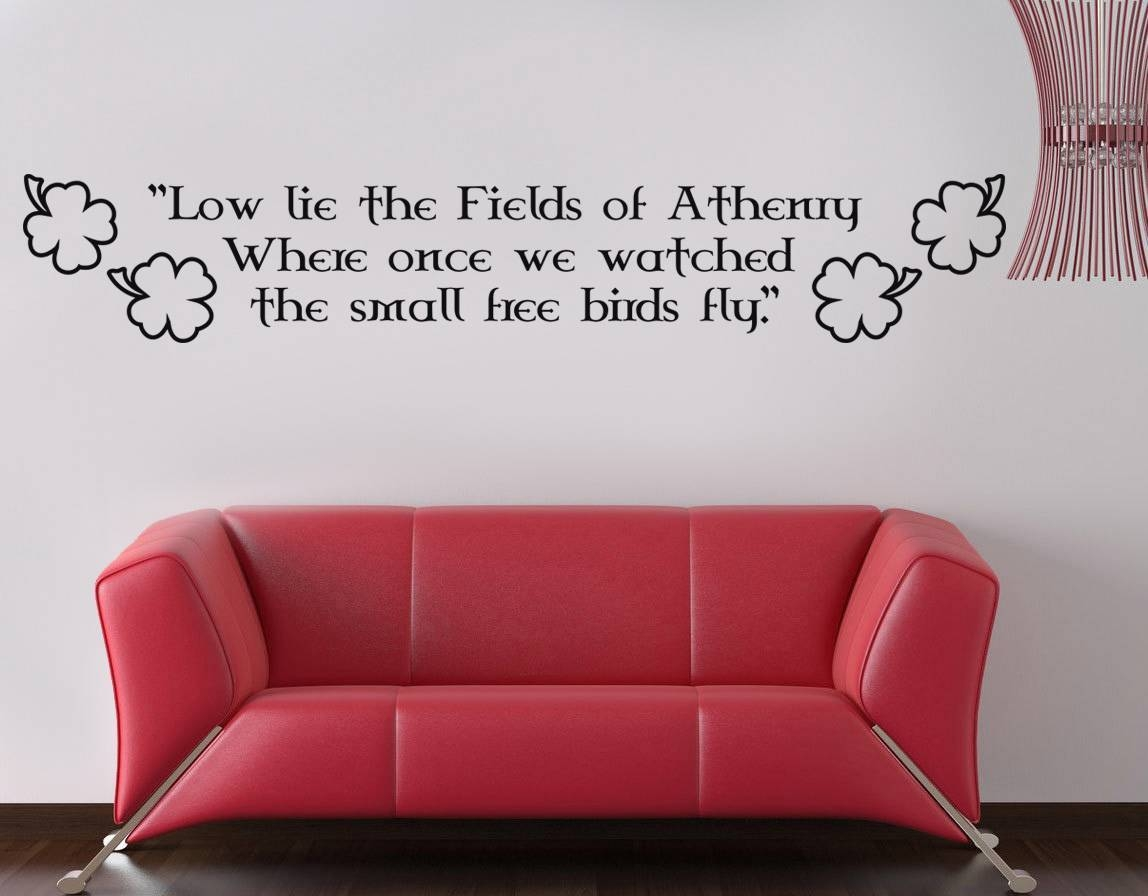 Articles With Irish Outdoor Wall Decor Tag: Irish Wall Decor Photo (View 4 of 20)