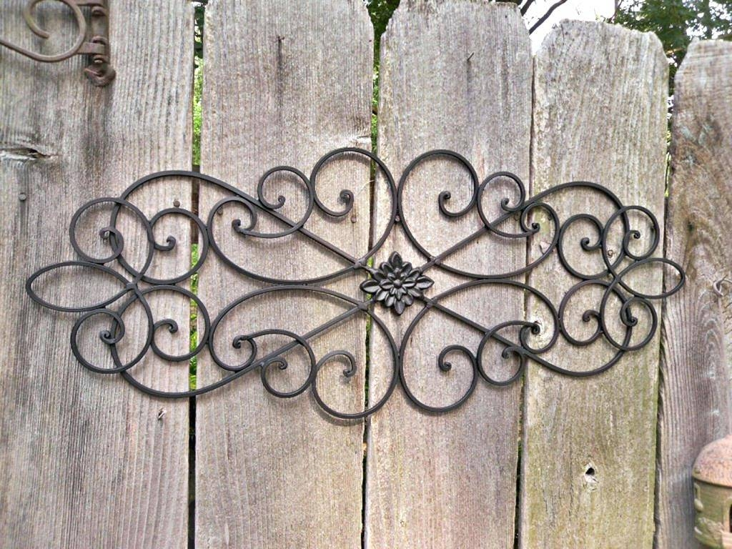 Articles With Iron Garden Gate Wall Decor Tag: Garden Gate Wall With Regard To 2018 Iron Gate Wall Art (View 3 of 25)