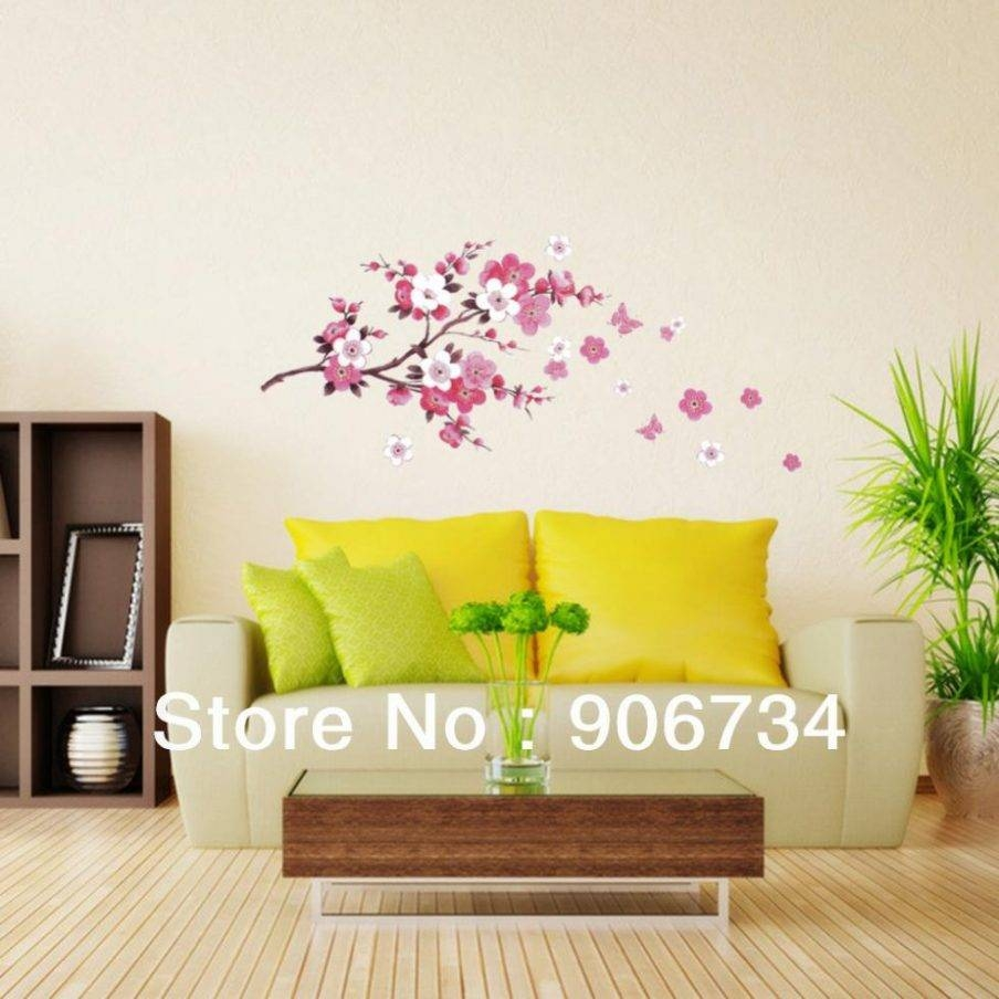 Articles With Japanese Cherry Blossom Wall Decor Tag: Cherry In Most Current Red Cherry Blossom Wall Art (View 6 of 30)