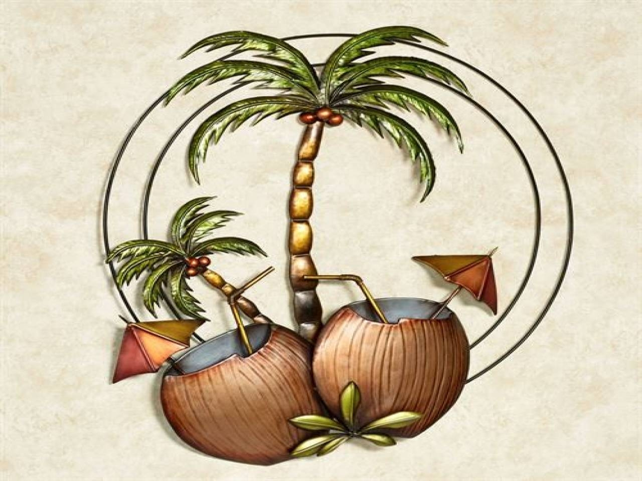Articles With Large Metal Palm Tree Wall Art Tag: Palm Tree Wall Regarding Most Current Palm Tree Metal Art (View 5 of 25)