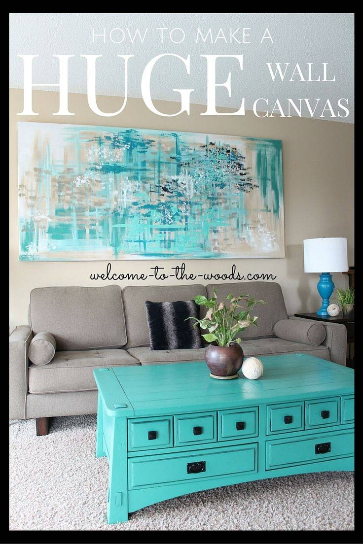 Articles With Large Wall Art Diy Tag: Large Wall Art Ideas Throughout 2018 Cheap Big Wall Art (View 2 of 20)
