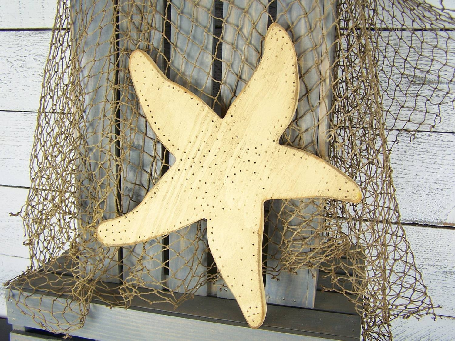 Articles With Large White Starfish Wall Decor Tag: Starfish Wall Intended For Newest Large Starfish Wall Decors (View 7 of 25)