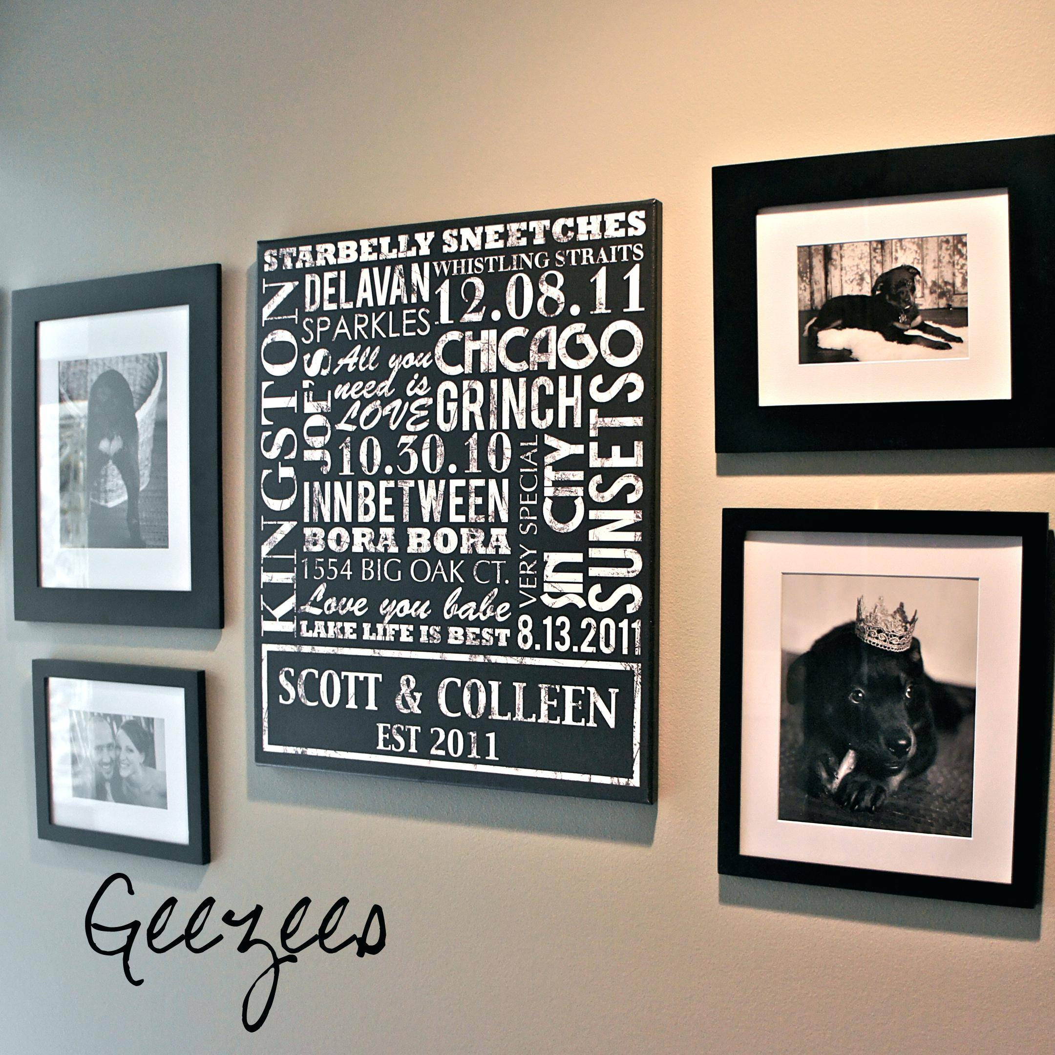 Articles With Last Name Alphabet Wall Art Tag: Last Name Wall Art In Best And Newest Last Name Framed Wall Art (View 2 of 25)
