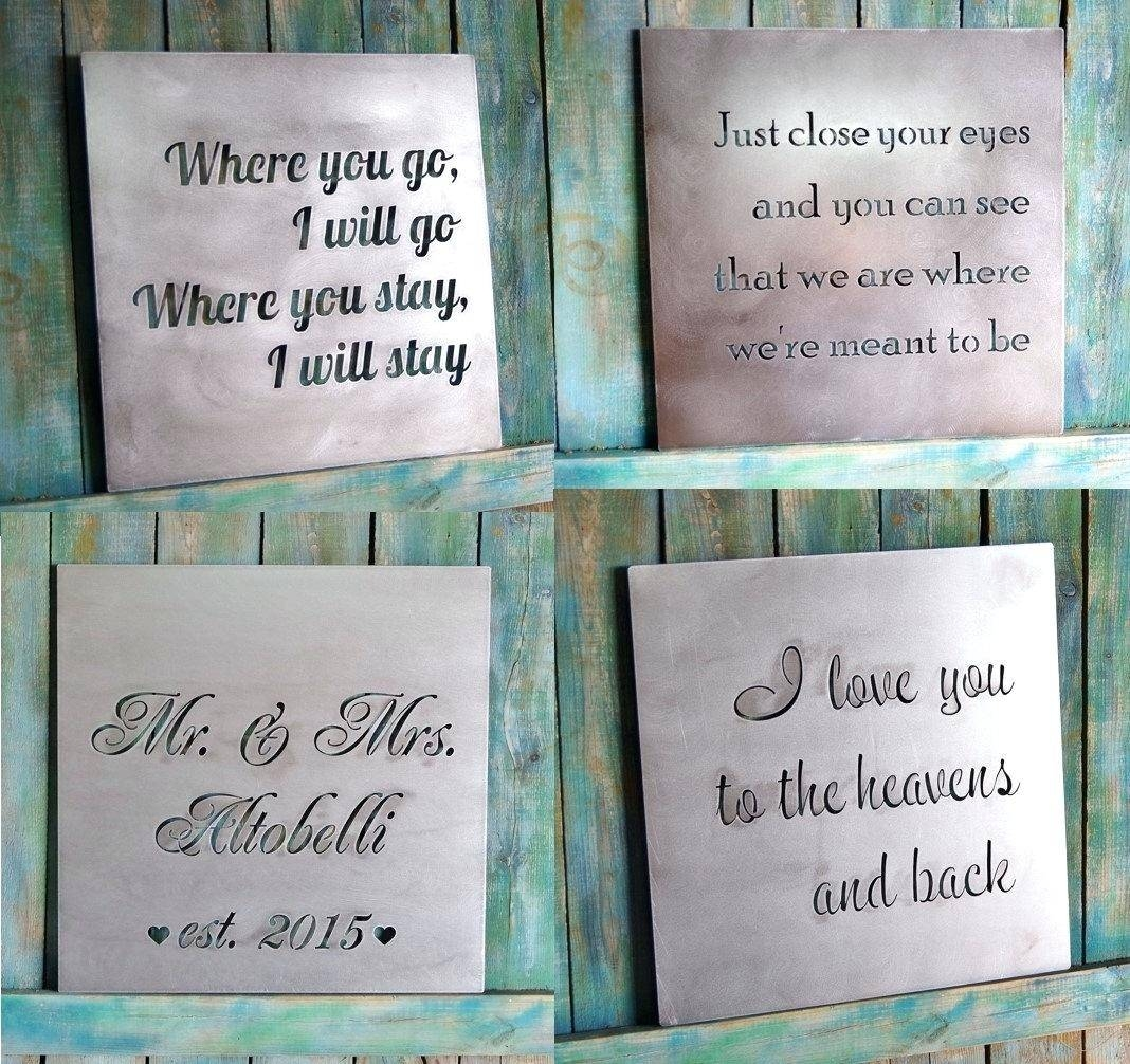 Articles With Last Name Alphabet Wall Art Tag: Last Name Wall Art Pertaining To Most Up To Date Last Name Framed Wall Art (View 10 of 25)